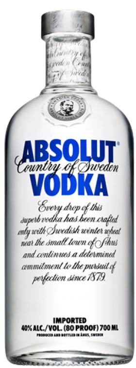 Absolut Vodka 700